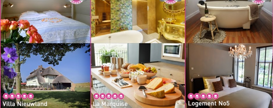 Nominaties Beste Bed & Breakfast van Nederland bekend